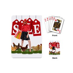 Sale Playing Cards (mini)  by Valentinaart