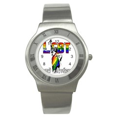 Lgbt New York Stainless Steel Watch by Valentinaart