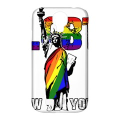 Lgbt New York Samsung Galaxy S4 Classic Hardshell Case (pc+silicone) by Valentinaart