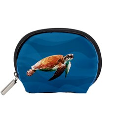 Sea Turtle Accessory Pouches (small)  by Valentinaart