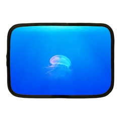 Jellyfish Netbook Case (medium)  by Valentinaart