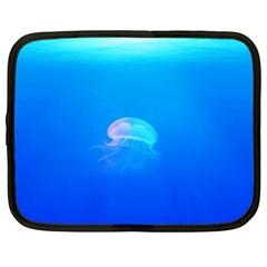 Jellyfish Netbook Case (xl)  by Valentinaart