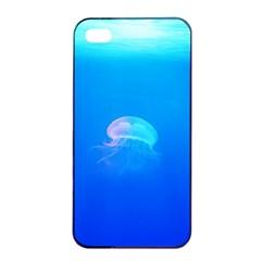 Jellyfish Apple Iphone 4/4s Seamless Case (black) by Valentinaart