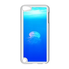 Jellyfish Apple Ipod Touch 5 Case (white) by Valentinaart