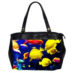 Tropical Fish Office Handbags (2 Sides)  by Valentinaart