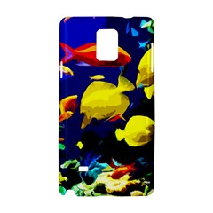 Tropical Fish Samsung Galaxy Note 4 Hardshell Case by Valentinaart