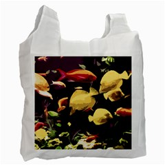 Tropical Fish Recycle Bag (one Side) by Valentinaart