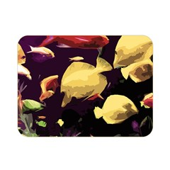 Tropical Fish Double Sided Flano Blanket (mini)  by Valentinaart