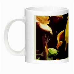 Tropical Fish Night Luminous Mugs by Valentinaart