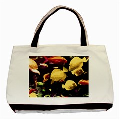 Tropical Fish Basic Tote Bag by Valentinaart