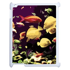 Tropical Fish Apple Ipad 2 Case (white) by Valentinaart