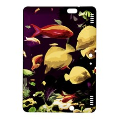 Tropical Fish Kindle Fire Hdx 8 9  Hardshell Case by Valentinaart