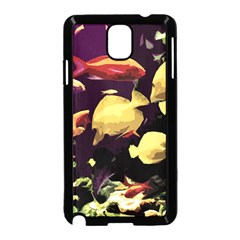 Tropical Fish Samsung Galaxy Note 3 Neo Hardshell Case (black) by Valentinaart