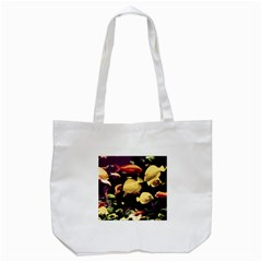 Tropical Fish Tote Bag (white) by Valentinaart