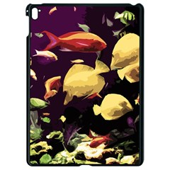 Tropical Fish Apple Ipad Pro 9 7   Black Seamless Case by Valentinaart