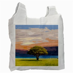 Landscape Recycle Bag (two Side)  by Valentinaart