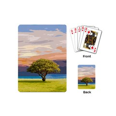 Landscape Playing Cards (mini)  by Valentinaart