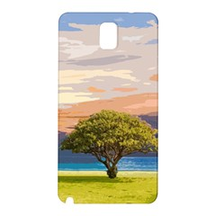 Landscape Samsung Galaxy Note 3 N9005 Hardshell Back Case by Valentinaart