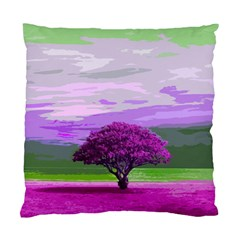 Landscape Standard Cushion Case (two Sides) by Valentinaart