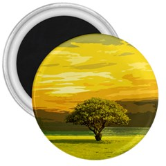 Landscape 3  Magnets by Valentinaart
