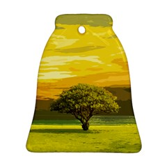 Landscape Bell Ornament (two Sides) by Valentinaart