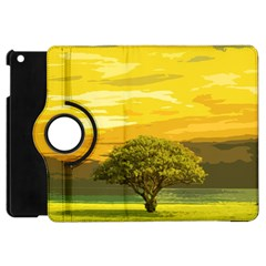 Landscape Apple Ipad Mini Flip 360 Case by Valentinaart