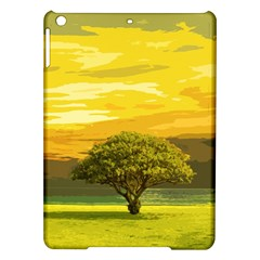 Landscape Ipad Air Hardshell Cases by Valentinaart