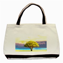 Landscape Basic Tote Bag (two Sides) by Valentinaart