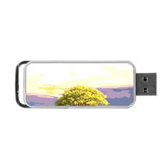 Landscape Portable Usb Flash (two Sides) by Valentinaart
