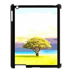 Landscape Apple Ipad 3/4 Case (black) by Valentinaart