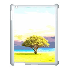Landscape Apple Ipad 3/4 Case (white) by Valentinaart