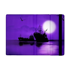 Open Sea Apple Ipad Mini Flip Case by Valentinaart