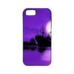 Open Sea Apple Iphone 5 Classic Hardshell Case (pc+silicone) by Valentinaart