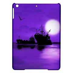 Open Sea Ipad Air Hardshell Cases by Valentinaart