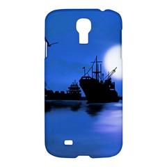 Open Sea Samsung Galaxy S4 I9500/i9505 Hardshell Case by Valentinaart