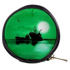 Open Sea Mini Makeup Bags by Valentinaart