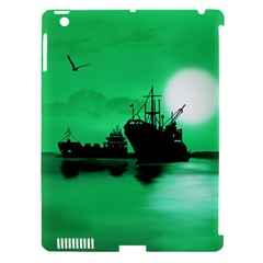 Open Sea Apple Ipad 3/4 Hardshell Case (compatible With Smart Cover) by Valentinaart