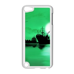 Open Sea Apple Ipod Touch 5 Case (white) by Valentinaart