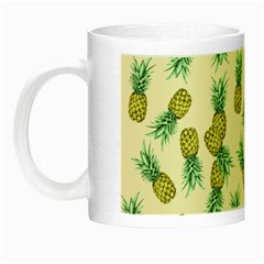 Pineapples Pattern Night Luminous Mugs by Valentinaart