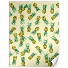 Pineapples Pattern Canvas 36  X 48   by Valentinaart