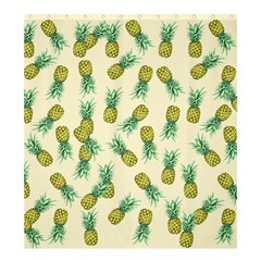 Pineapples Pattern Shower Curtain 66  X 72  (large)  by Valentinaart