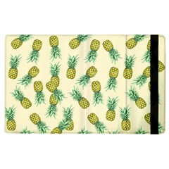 Pineapples Pattern Apple Ipad 3/4 Flip Case by Valentinaart