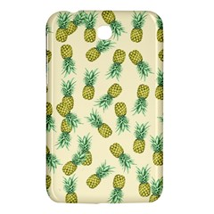 Pineapples Pattern Samsung Galaxy Tab 3 (7 ) P3200 Hardshell Case  by Valentinaart
