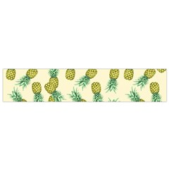Pineapples Pattern Flano Scarf (small) by Valentinaart