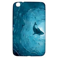 Shark Samsung Galaxy Tab 3 (8 ) T3100 Hardshell Case  by Valentinaart