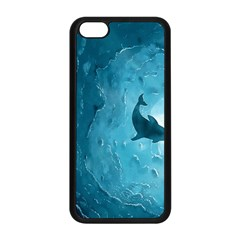Shark Apple Iphone 5c Seamless Case (black) by Valentinaart