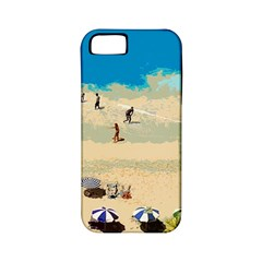 Beach Apple Iphone 5 Classic Hardshell Case (pc+silicone) by Valentinaart
