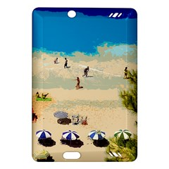 Beach Amazon Kindle Fire Hd (2013) Hardshell Case by Valentinaart