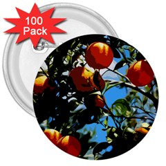 Orange Tree 3  Buttons (100 Pack)  by Valentinaart
