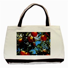 Orange Tree Basic Tote Bag (two Sides) by Valentinaart